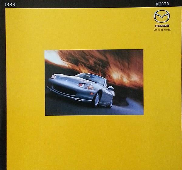 1999 Mazda MX-5 MIATA brochure catalog 2nd Edition US 99 - $10.00