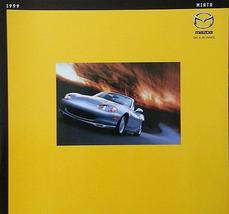 1999 Mazda MX-5 MIATA brochure catalog 2nd Edition US 99 - $10.00