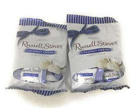 Russell Stover Milk Chocolate Coconut creme in white fudge(pack of 2) Ho... - $9.99