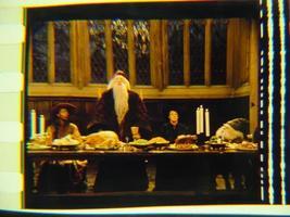 Harry Potter original 35mm film cell Dumbledore Slide 3 - $3.00