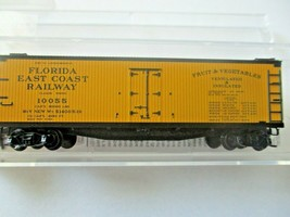 Micro-Trains # 04900900 Florida East Coast 40' Double-Sheathed Wood Reefer (N)  image 1