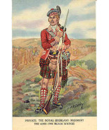 Royal Highland Regiment, Private  Post Card - $7.00