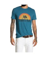 LUCKY BRAND Joshua Tree Graphic Tee T-Shirt Short Sleeves Blue Men's siz... - $29.69