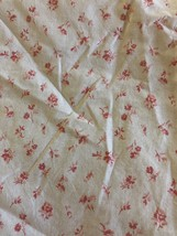 Ralph Lauren COLCHESTER Cream Red  Mini  Floral Fitted Sheet - Twin - $32.62
