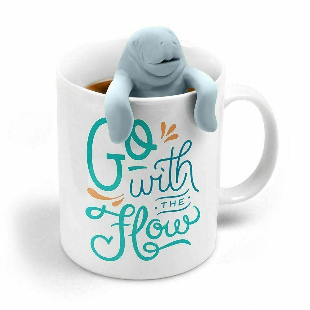 Zwei für Tee Manatea Tee-Ei & Kaffee Tasse Geschenk Set von Fred & Freunde