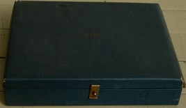 Vintage Avon Faux Leather Covered Jewelry Box, Velveteen Lining, GOOD COND - $16.82