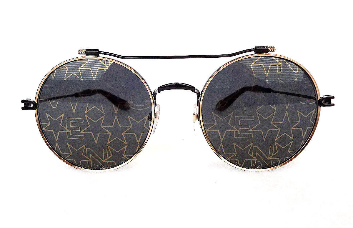 GIVENCHY Women's Sunglasses GV7079/S Round Black/Gold MADE IN ITALY - New!