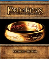 The Lord of the Rings: Extended Trilogy [Blu-ray Disc, 2011, 15-Disc Set]
