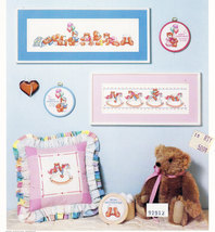 CROSS STITCH BABY BEARS BY LINDA GILLUM - $5.95