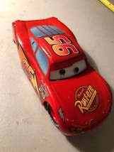 Disney Pixar CARS Toy diecast Retired Lightning McQueen Rusteze Ointment 6 - $7.87