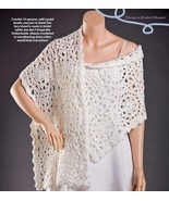 W045 Crochet PATTERN ONLY Beautiful Beaded Wedd... - $9.45