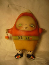 Bethany Lowe Halloween Ornament by Robin Seeber Candy Corn Carl no. RS0405 image 3