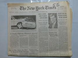 The New York Times 1997 September 24 Trent Lott Teamsters Bosnia Range R... - $39.99