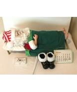 Telco Motion-ette Vintage Snoring Sleeping Santa Claus Animated Xms Deco... - $49.99