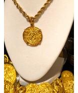 """COLOMBIA 2 ESCUDOS 1622 """"ATOCHA STYLE"""" PENDANT COIN JEWELRY SILVER GOLD ... - $699.00"""