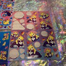 4 Sheets NotFull Lisa Frank Kitties  Fishbowl Balloon Playtime Sunflower Zebra image 5