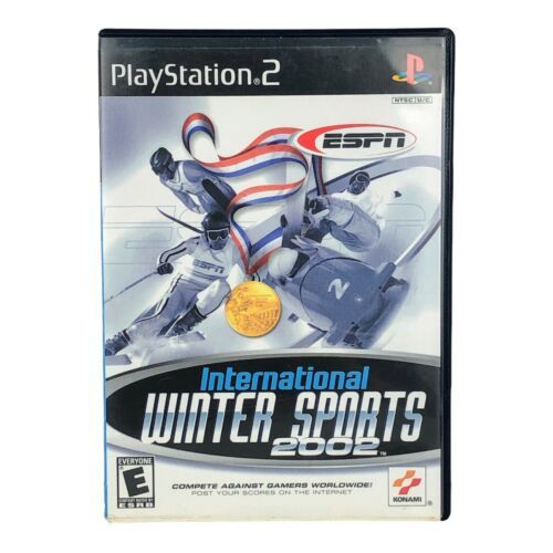 International Winter Sports 2002 PS2 Playstation 2 Game COMPLETE - $6.92