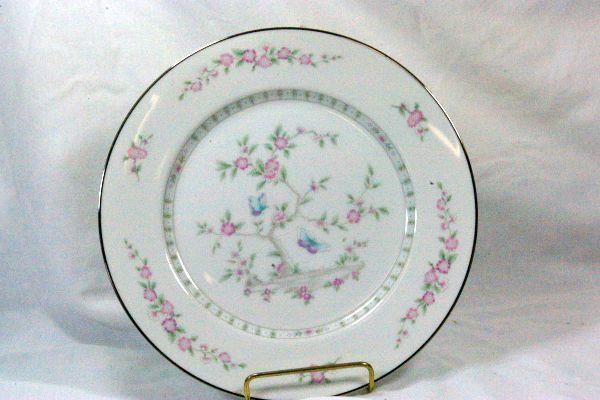 "Lenox 1985 Tea Garden Dinner Plate 10 1/2"""