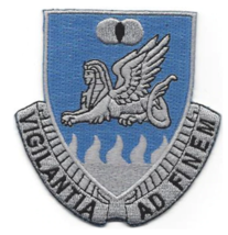 """3.5"""" ARMY 15TH MILITARY INTELLIGENCE BATTALION EMBROIDERED PATCH - $17.14"""