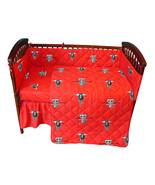 Texas Tech Raiders Crib Set 5 Piece Cotton - $102.90
