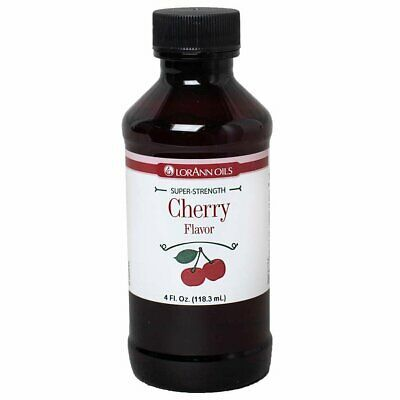 Primary image for LorAnn Super Strength Cherry Flavor, 4 ounce bottle