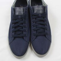 Lauren Big Polo Low Navy Canvas Lace Up amp; HARVEY D Mens Tall Ralph 17 Top Shoes 5TqT0Rfx