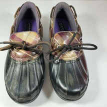 Sperry Top Slider Duckling Rain Shoes Black Size 7  Style 9773559 - $25.71