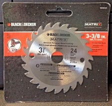 "Black & Decker BDA8324 Matrix 3-3/8"" x 24 Carbide Teeth Wood Cutting Saw... - $6.44"