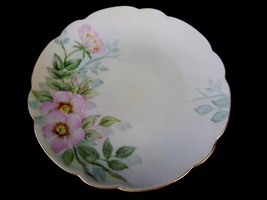 Vintage Haviland Bread Plate, Collectible Plate Decorated with Flowers &... - $12.69