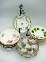 Authenic Vintage-Modern Assorted Saucers ONLY REPLACEMENTS-Floral/Graphic - $6.99