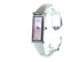 Auth GUCCI 1500L Mother of Pearl Dial Stainless Steel Ladies Watch GW10212L - $198.00