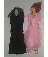Vintage Wicked Witch Doll Wizard of Oz & Glenda Witch Doll, 1985 Multi T... - $39.59