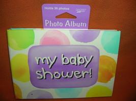 Creative Expressions Baby Me My Baby Shower! Mini Photo Album   UPC:0735... - $7.87