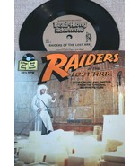 """Raiders of the Lost Ark SEE HEAR READ Book & Record 7"""" 33rpm  M- 24 Page... - $4.99"""
