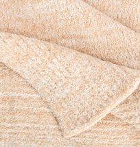 Kashwere Lightweight Throw Blanket Heather Light Camel & Cream - $155.00