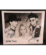 TRICK PONY signed 10x8 photo (Signed by Entire Group - Autograph) - $35.00