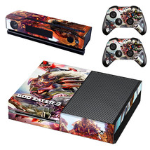 God Eater 3 decal for xbox one console and 2 controllers - $15.00