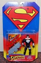 Kenner DC comics Superman Man of Steel Laser Superman figure, Brand New! - $13.86