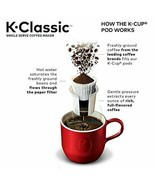 Keurig K-Classic Coffee Maker, Single Serve K-Cup Pod Coffee Brewer, 6 t... - $138.59