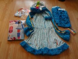 Women's Rainbow Dash My Little Pony S (2/4) Costume Outfit Glitter 5-Pie... - $27.81