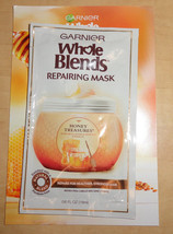 GARNIER WHOLE BLENDS REPAIRING HAIR MASK 19ML HONEY TREASURES - $0.99