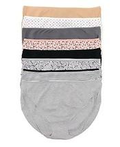 Felina Ladies'  8-Pack Hi-Cut Panty, FLOWER DOT, S - $12.86