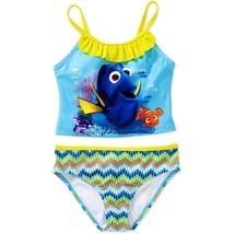 FINDING DORY UPF50 Tankini Bathing Swim Suit NWT Girls Sz. 4/5. 6/6X or ... - $10.39