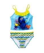 FINDING DORY UPF50 Tankini Bathing Swim Suit NWT Girls Sz. 4/5. 6/6X or ... - ₹729.42 INR