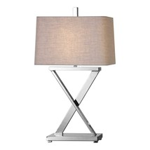 Uttermost Xavier Nickel Table Lamp - $261.80