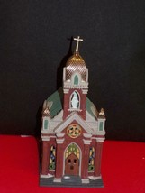 "DEPT 56 -CHRISTMAS IN THE CITY-""HOLY NAME CHURCH"" MINT IN BOX - $39.11"