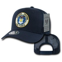 United States Air Force Usaf Blue Mesh Officially Licensed Baseball Cap Hat - $26.95