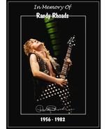 "Ozzy Osbourne Randy Rhoads ""Diary Of A Madman Era"" Memorial Stand-Up Dis... - $16.99"