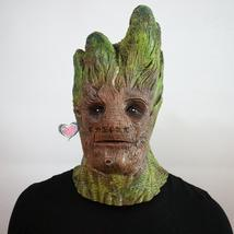 Guardians of the Galaxy Green Treant Grout Latex Mask Halloween Cool Cos... - £19.98 GBP