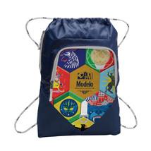 Modelo Soccer Cinch Navy Backpack Blue - $16.98